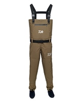Daiwa Breathable Khaki Chest Waders