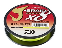 Daiwa J-Braid Grand Braid Yellow