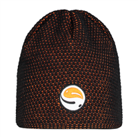 Guru Skull Cap Black/ Orange