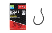 Preston Innovations MCM-B Barbless Eyed Hooks
