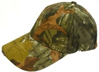 Dennett Camouflage Cap with Built in 5 LED Lamps