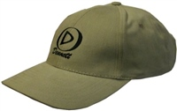 Dennett Khaki Cotton Baseball Cap