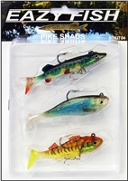 Dennett Eazy Fish Pike Shad Lure Pack