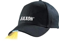 Jaxon Black Baseball Cap with 5 L.E.D Lamps