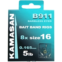 Kamasan B911 Barbless Bait Band Rigs