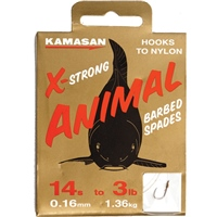 Kamasan Animal Light Hooks to Nylon