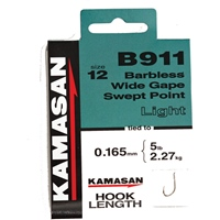Kamasan B911 Heavy Hooks to Nylon