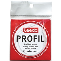 Leeda Profil Braided Clear Trout Loops