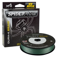 Spiderwire Dura4 Braid - Green 150m