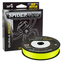 Spiderwire Dura4 Braid - Yellow 150m