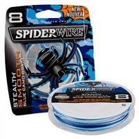 Spiderwire Stealth Smooth 8 Braid - Blue Camo 300m