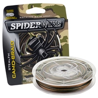 Spiderwire Stealth Smooth 8 Braid - Camo 300m