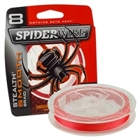Spiderwire Stealth Smooth 8 Braid - Red 150m