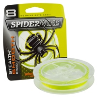 Spiderwire Stealth Smooth 8 Braid - Yellow 150m