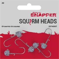 Korum Snapper Squirm Heads