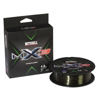 Mitchell MX3 Lo-Vis Green Monifilament 300m