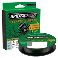 Spiderwire Stealth Smooth 12 Moss Green Braid 2000m