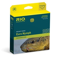 RIO FIPS Euro Nymph Orange/Sage/Olive Fly Line