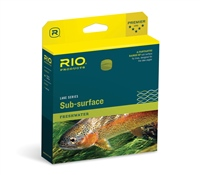 RIO Sub-Surface Midge Tip Yellow/Clear Fly Line