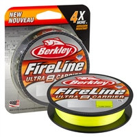Berkley Ultra 8 Fireline Flame Green Braid 300m