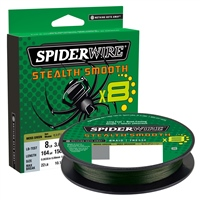 Spiderwire Stealth Smooth8 Moss Green Braid 150m