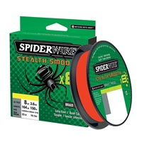 Spiderwire Stealth Smooth8 Red Braid 150m