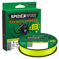 Spiderwire Stealth Smooth8 Yellow Braid 300m