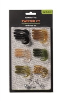 Kinetic Twister CT Dark Cloud Mix Lure Pack 4.5cm 5g