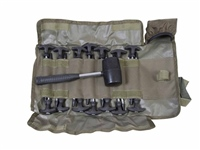 Avid Supertough Bivvy Peg & Mallet Set