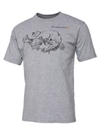 Savage Gear Cannibal Ink Tee - Grey Melange