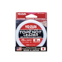 YO-ZURI Top Knot Clear Fluorocarbon 30 Yards