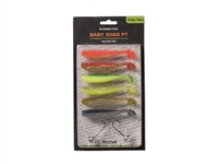 Kinetic Baby Shad PT Favorite Mix Lure Pack 10cm 13.5g