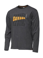 Savage Gear Simply Savage Logo Tee Long Sleeve