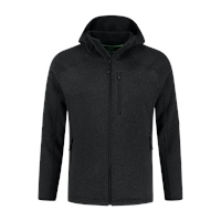 KORE Polar Fleece Zip Jacket - Charcoal