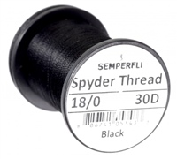 SemperFli Classic Waxed Spyder Thread - 18/0 240yds