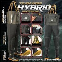Vass Team Neoprene Hybrid Chest Waders