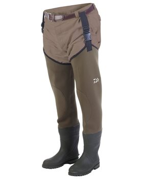Daiwa Endura Neoprene Thigh Waders  - Click to view a larger image