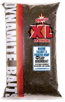 Dynamite Baits Marine Halibut & Frenzied Hemp Groundbait  - Click to view a larger image