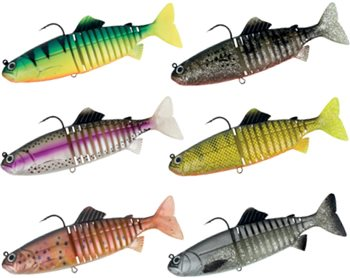 "Fox Rage Replicant Jointed 9""/23cm Lures  - Click to view a larger image"