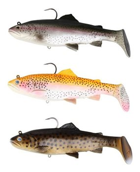 Savage Gear 3D Trout Rattle Shad  - Click to view a larger image