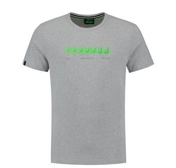 Korda Hook Spec T-Shirt Heather Grey  - Click to view a larger image