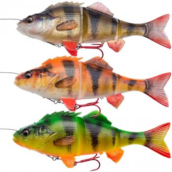 Savage Gear 4D Line Thru Perch Lure  - Click to view a larger image