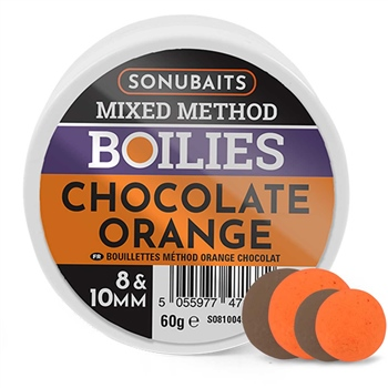 Daiwa Advantage Semi Buoyant 8//10mm Orange Chocolate Method Feeder Dumbells
