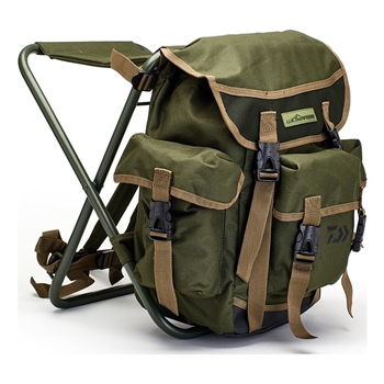 Daiwa Wilderness Rucksack Stool  - Click to view a larger image