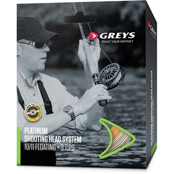 Greys Platinum Shooting Head System Fly Line  - Click to view a larger image