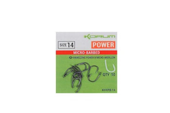 Korum Xpert power Barbless Hooks  - Click to view a larger image