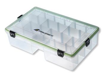 Transparent Plastique-Box 360x225x50mm