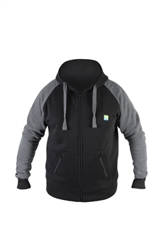 Preston Innovations Black Celcius Zip Hoodie  - Click to view a larger image