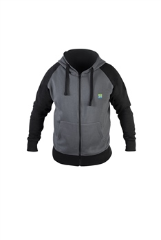 Preston Innovations Grey Zip Hoodie  - Click to view a larger image