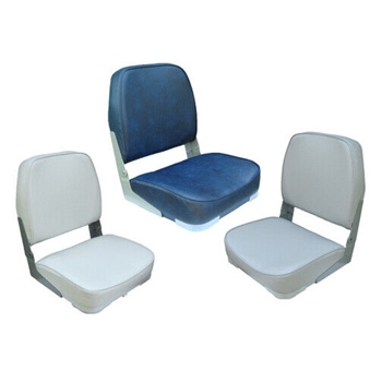Waveline Classic Low Back Folding Boat Seat  - Click to view a larger image
